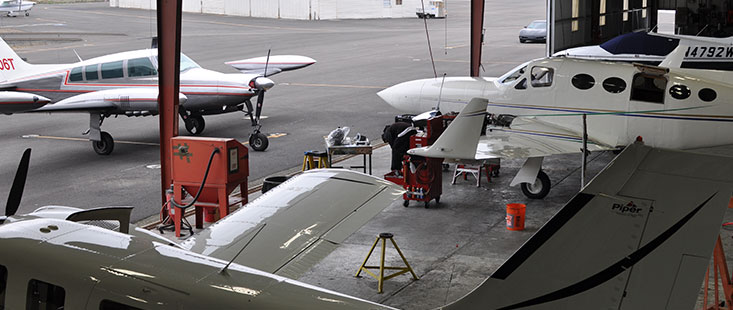 Oakland Bay Area aircraft maintenance repair station